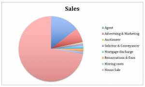 Selling Your Home - Expense Graph